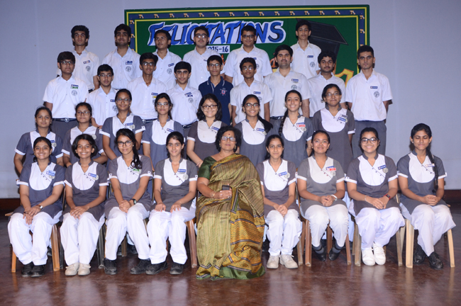 Felicitation Ceremony For Class X CBSE Toppers(2015-16)