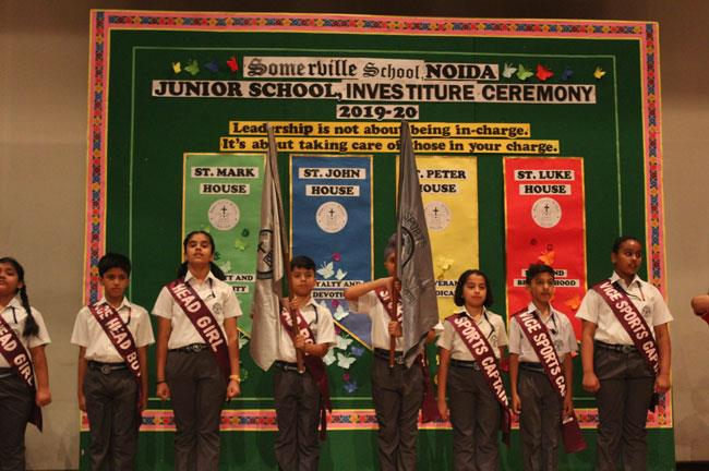 INVESTITURE CERMONY JR. SCHOOL