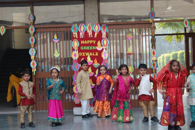 SPECIAL ASSEMBLY DIWALI (NURSERY)